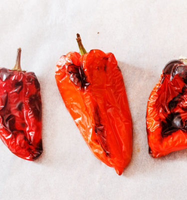 Fire Red roasted Peppers