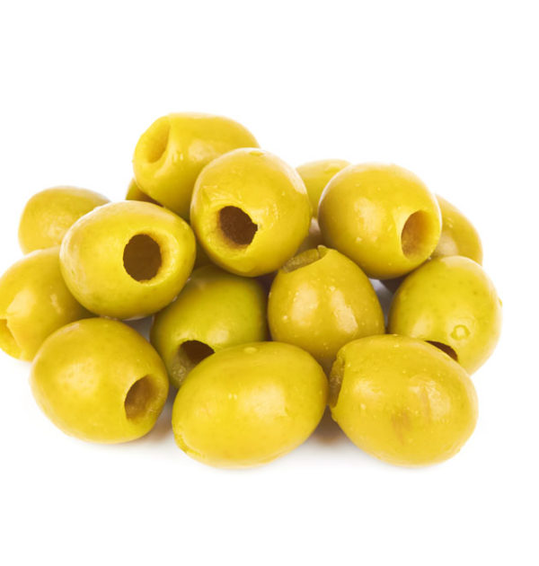 Pitted Queen Green Olives